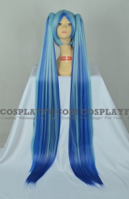 Miku Wig (Blueberry) from Rainbow Miku