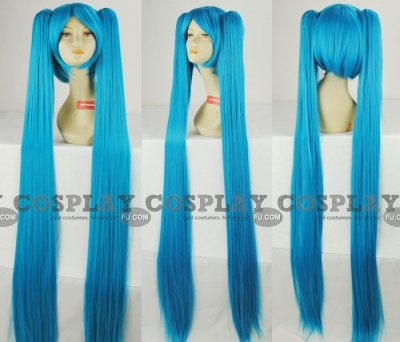 Miku Wig (Diamond Blue) from Vocaloid
