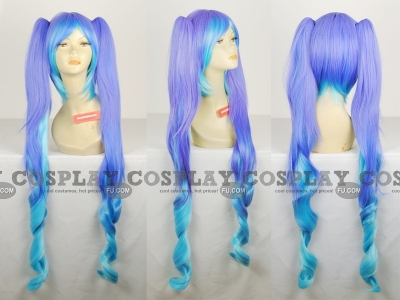 Miku Wig (The Intense Singing of Hatsune Miku) from Project Diva