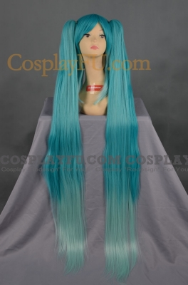 Miku Wig (Mix Blue) from Vocaloid