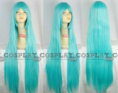 Miku Wig (Straight, Lake Blue) from Vocaloid
