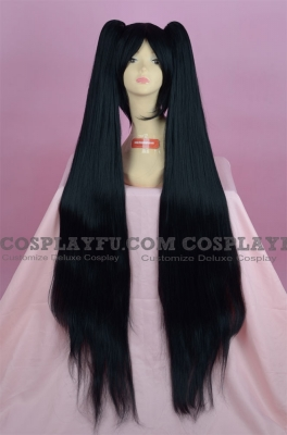 Miku Wig (Black) from Vocaloid