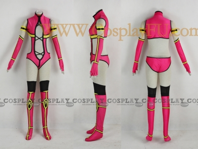 Mileena Costume from Mortal Kombat 9