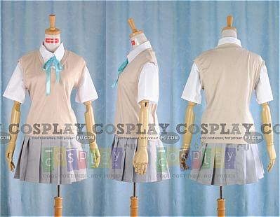 Mio Cosplay (Summer School Uniform) from K ON