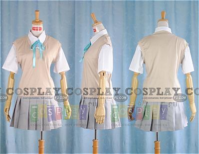 Mio Cosplay (Summer School Uniform) from K ON