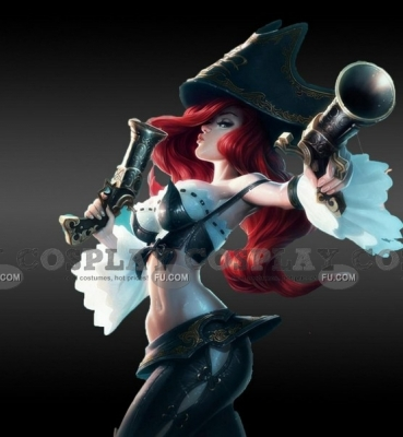 Miss Fortune Cosplay (Bounty Hunter) from League of Legends