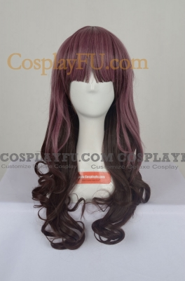 Mixed Color Wig (Long,Curly)