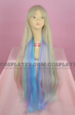 Mixed Color Wig (Long,Curly, Mayu)