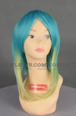 Mixed Wig (Medium,Straight,Miku)