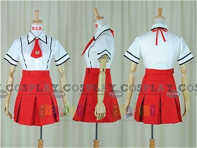 Mizuki Cosplay (Summer Uniform) from Baka to Test to Shokanju