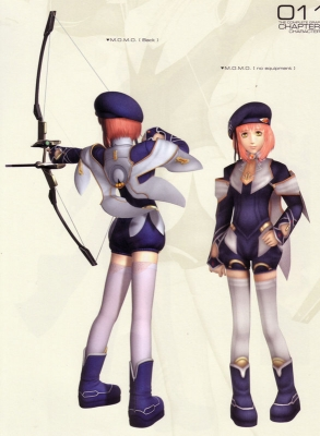 Momo Cosplay from Xenosaga 2