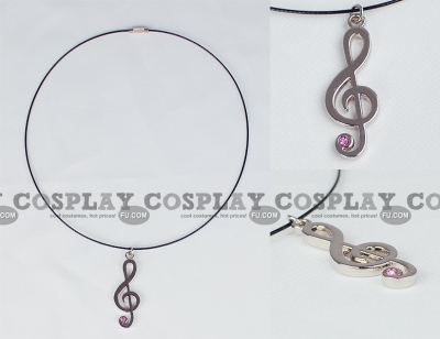 Music Note Necklace (2nd) from Vocaloid