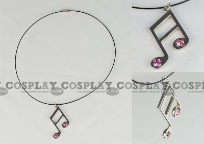 Music Note Necklace (3rd) from Vocaloid