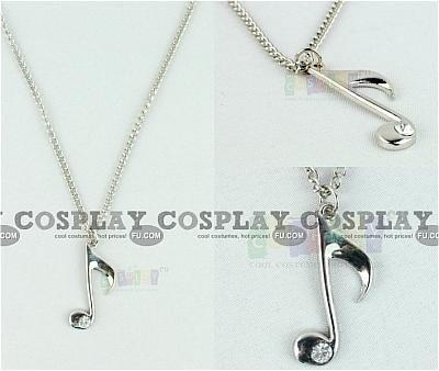 Music Note Necklace from Vocaloid