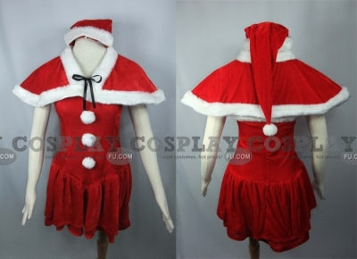 Nanaka Cosplay (Dream Christmas) from Da Capo
