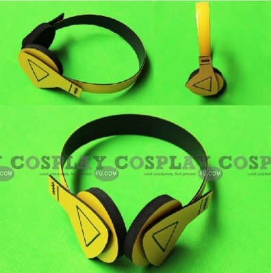 Nice Yellow Headphone from Hamatora