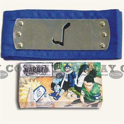 Ninja HeadBand Sound Village Blue from Naruto (Package)