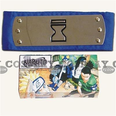 Naruto Headband (Blue,Sand Village,Package) from Naruto