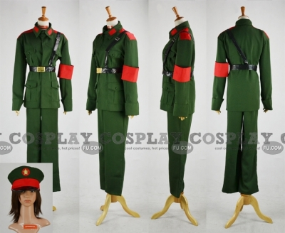 North Korea Cosplay from Axis Powers Hetalia