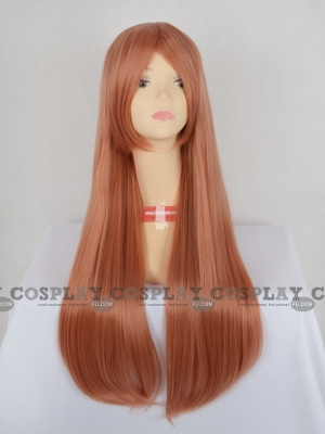 Orange Wig (Long,Straight,Kirino CF08)