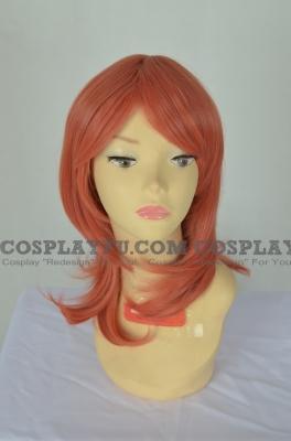 Orange Wig (Medium,Spike,Maki)