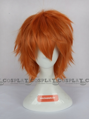 Orange Wig (Short, Spike, Lavi)