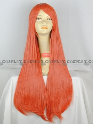 Orange Wig (Straight,Miki CF08)