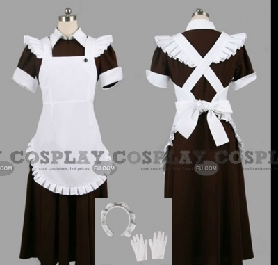 Otsu Cosplay (Maid) from Okami-san