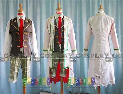 Oz Vessalius Cosplay Costume 2nd from Pandora Hearts