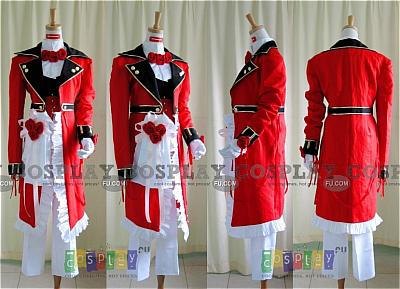 Oz Vessalius Red Costume from Pandora Hearts