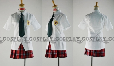 Panty Cosplay (Uniform) from Panty and Stocking with Garterbelt