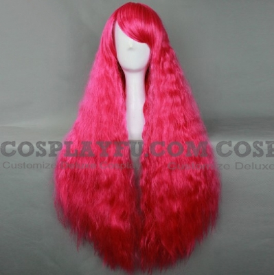 Pink Wig (Long,Curly,B21)
