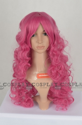 Pink Wig (Long,Curly,Fluttershy)