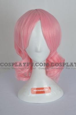 Pink Wig (Short, Wavy, Yuyuko)