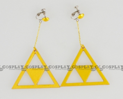 Princess Zelda Earrings from The Legend of Zelda Ocarina of Time 3D