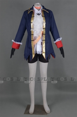 Prussia Cosplay (Girl) from Axis Powers Hetalia