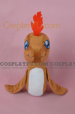 Pukamon Plush from Digimon Adventure