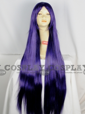 Purple Wig (Long, Straight, Mikina CF06)