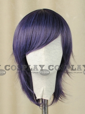 Purple Wig (Medium,Spike,HS11)