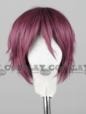 Purple Wig (Short,Straight,Zwh CF38)