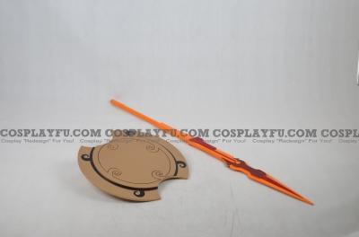 Pyrrha Javelin and Shield from RWBY