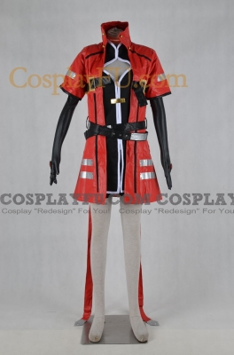 Ragna Cosplay (Female Version) from BlazBlue