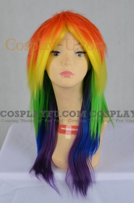 Rainbow Dash Wig from My Little Pony