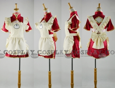 Ranka Cosplay (Maid Costume) from Macross  Frontier