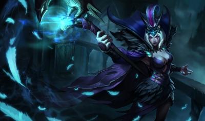 Ravenborn LeBlanc Costume from League of Legends