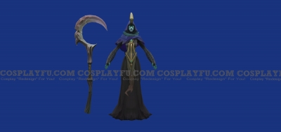 Reaper Soraka Cosplay from League of Legends