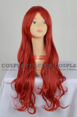 Red Wig (Curly, Long, KSP CF26)