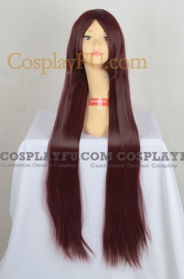 Red Wig (Long,Straight,Kurisu,CF06)