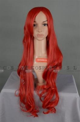 Red Wig (Long,Wavy,Queen Beryl )