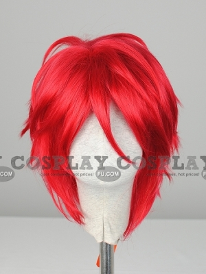 Red Wig (Short, Spike,FR, CF31)